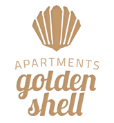 Golden shell logo